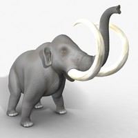 rigged mammoth elephant ma