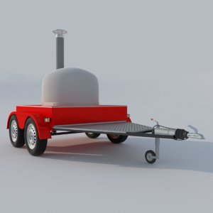 3d pizza oven mobile
