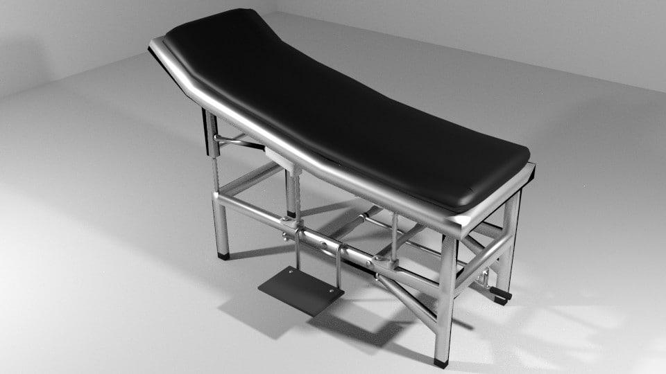 furniture operation hospital 3d model