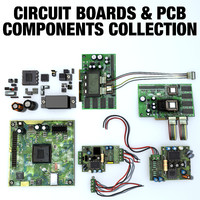 Circuit Board & PCB Components Collection
