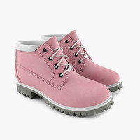 Women's Pink Waterproof Boot