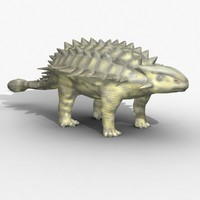 Rigged Ankylosaurus