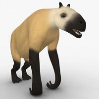 Chalicotherium Model