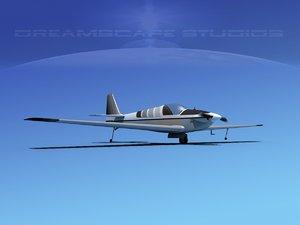3d model of propeller fournier rf-4