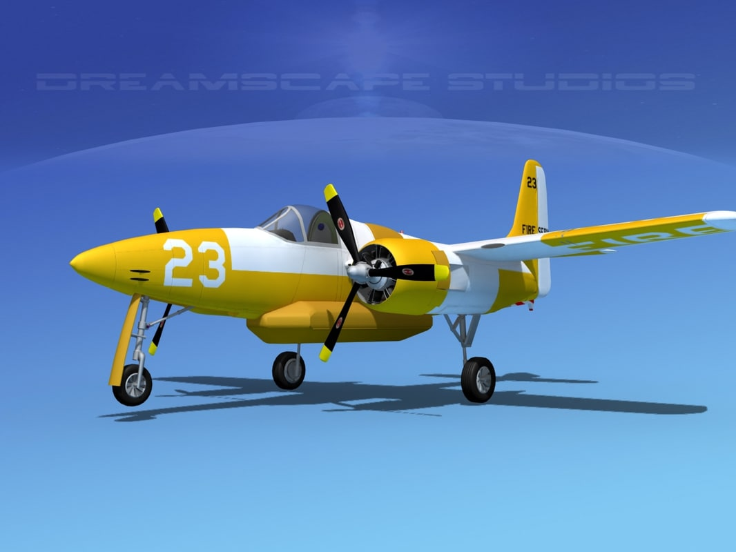 3d model cockpit tigercat