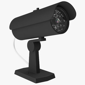 security camera 2 black max