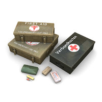 WW2 First Aid Kits 1