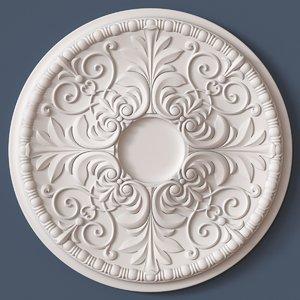 3dsmax ceiling medallion