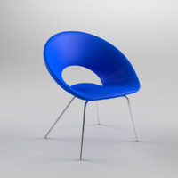 3d model ring chair