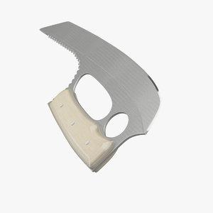 3d model weapon knife
