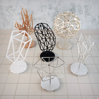 3d frame decor model