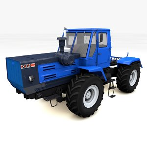 tractor t-150 3ds
