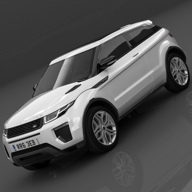 land rover range evoque 3ds