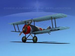3d model sopwith camel fighter