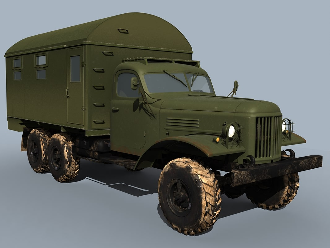 zil-157 truck shelter max