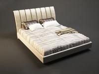 3d photorealistic prestige classic bed