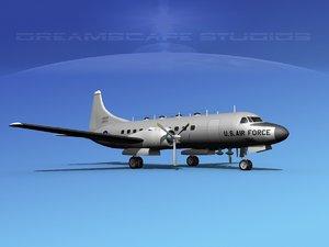 3d propellers convair military transport