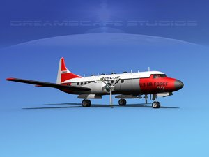 propellers convair military transport 3d 3ds