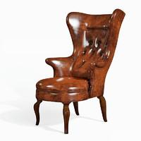 3d obj armchair jean merry