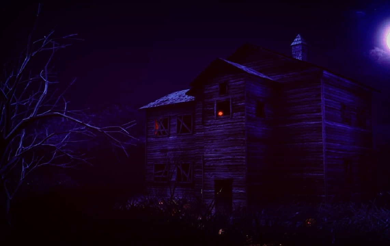 haunted mansion 3d obj