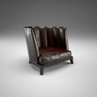 Parsifal Chair 3D Model