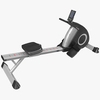 3d obj rowing machine dkn r310