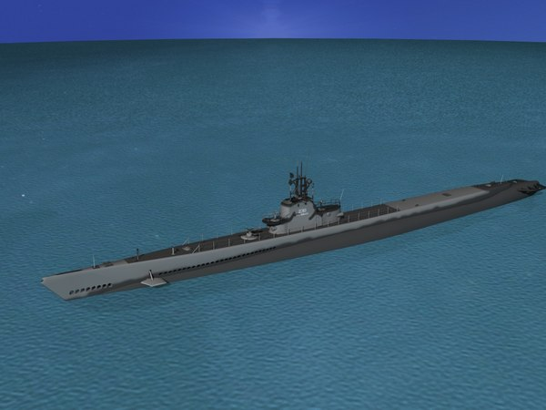 3d subs submarines class model