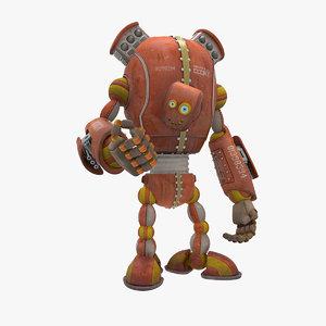 max robot character