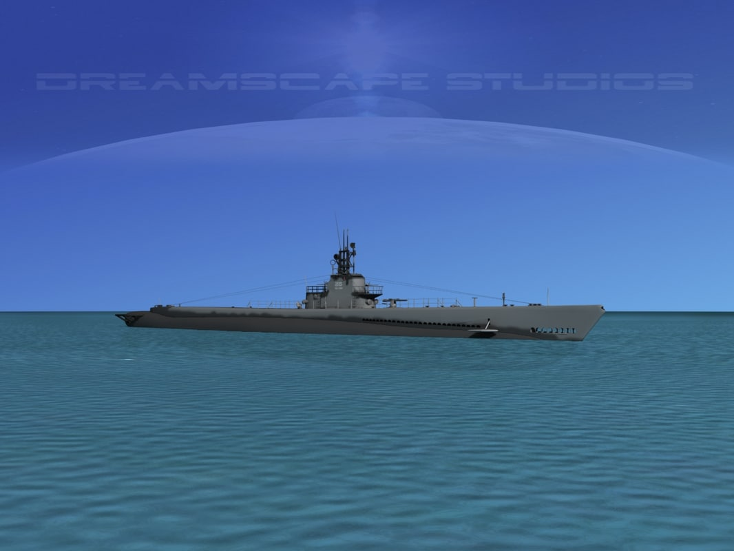 3d model subs submarines class
