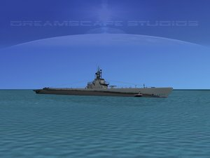 subs submarines class 3d 3ds