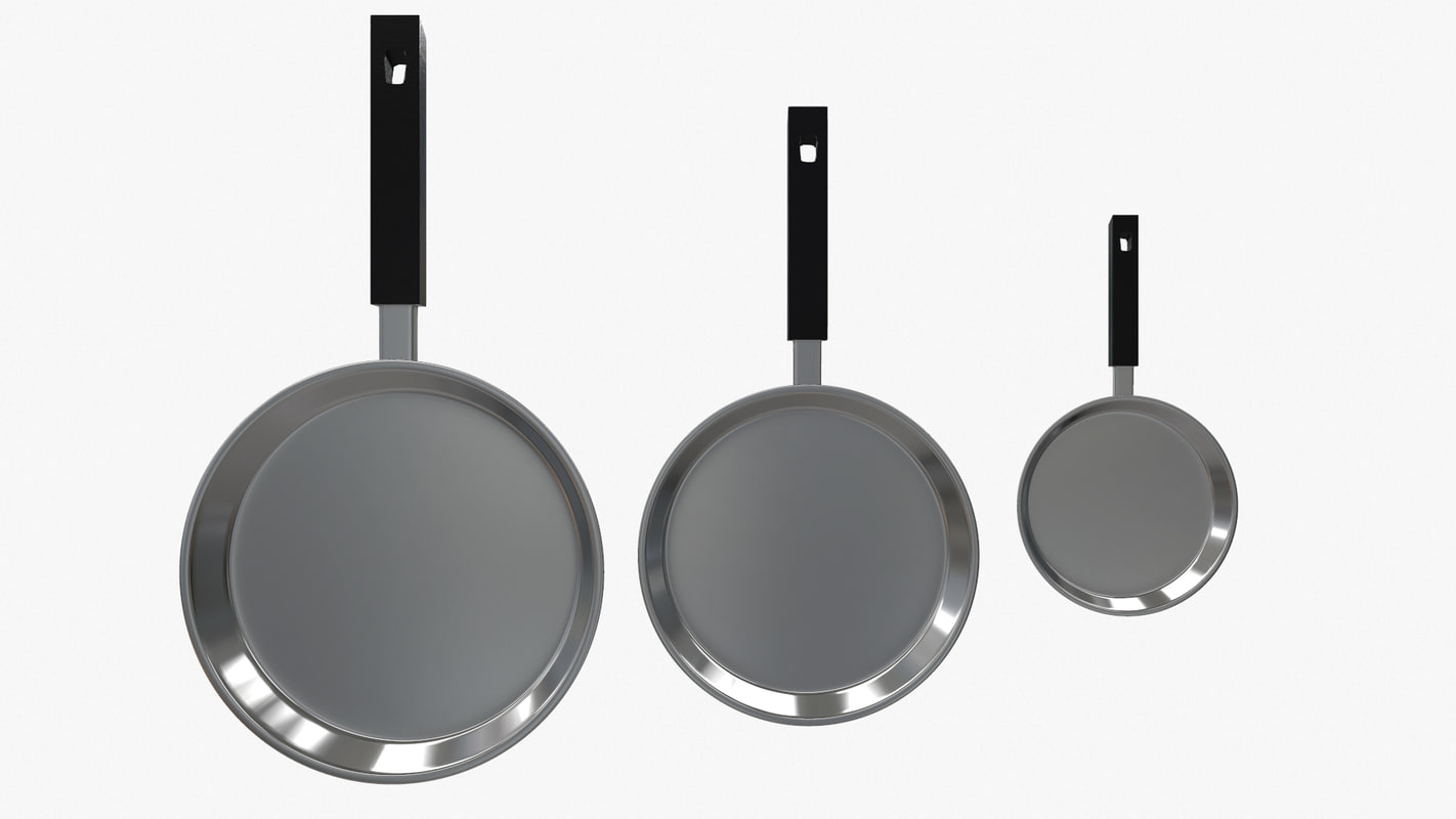 3d ma 3 metallic pans