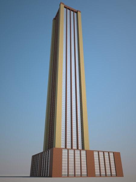 free max model skyscraper