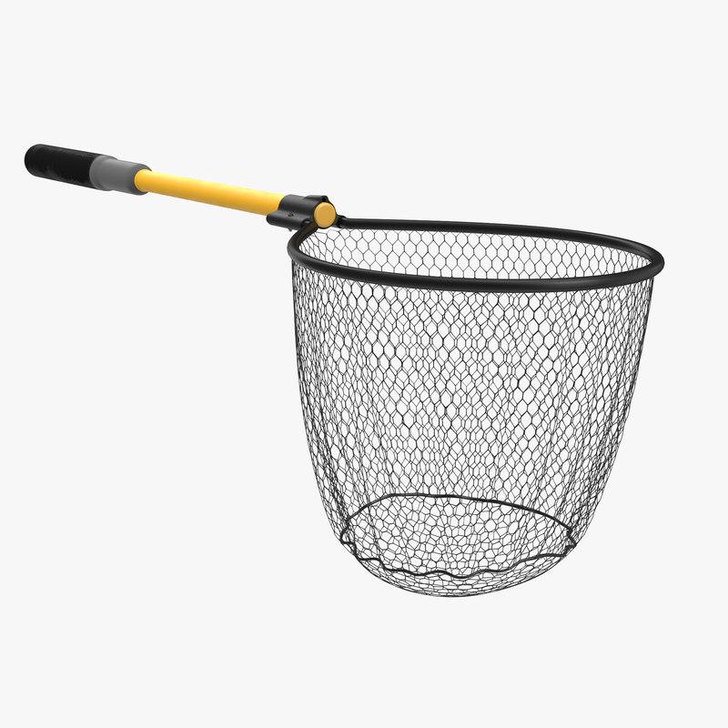 3d model fishing net 3 for Sjfc fish r net