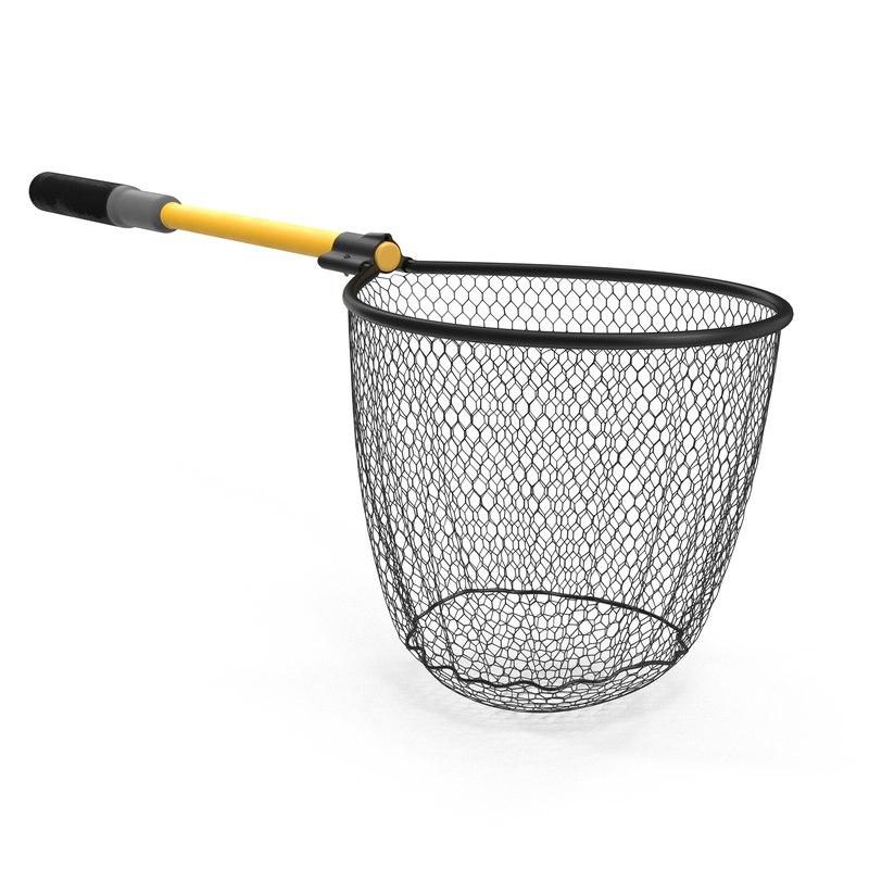 3d model fishing net 3