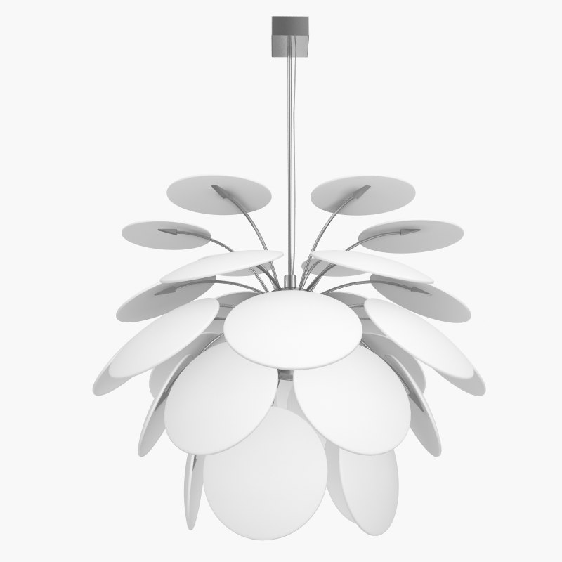 marset discoco lamp 3d model