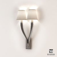 3d wall lamp mayflower double