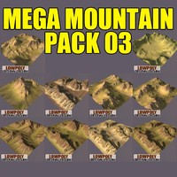 mountains pack 3d max