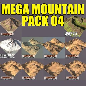 3ds max mountains pack
