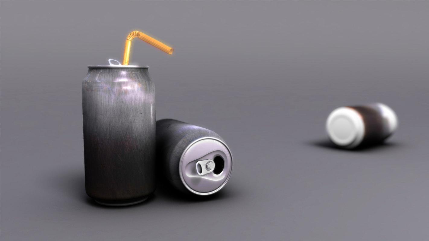 free soda 3d model