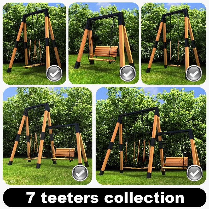 3d 7 teeters model