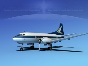propellers martin 202 executive 3d max