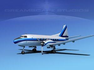 propellers martin 202 executive 3d model