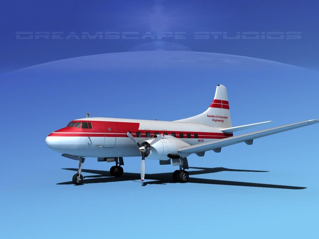 3d propellers martin 202 executive model