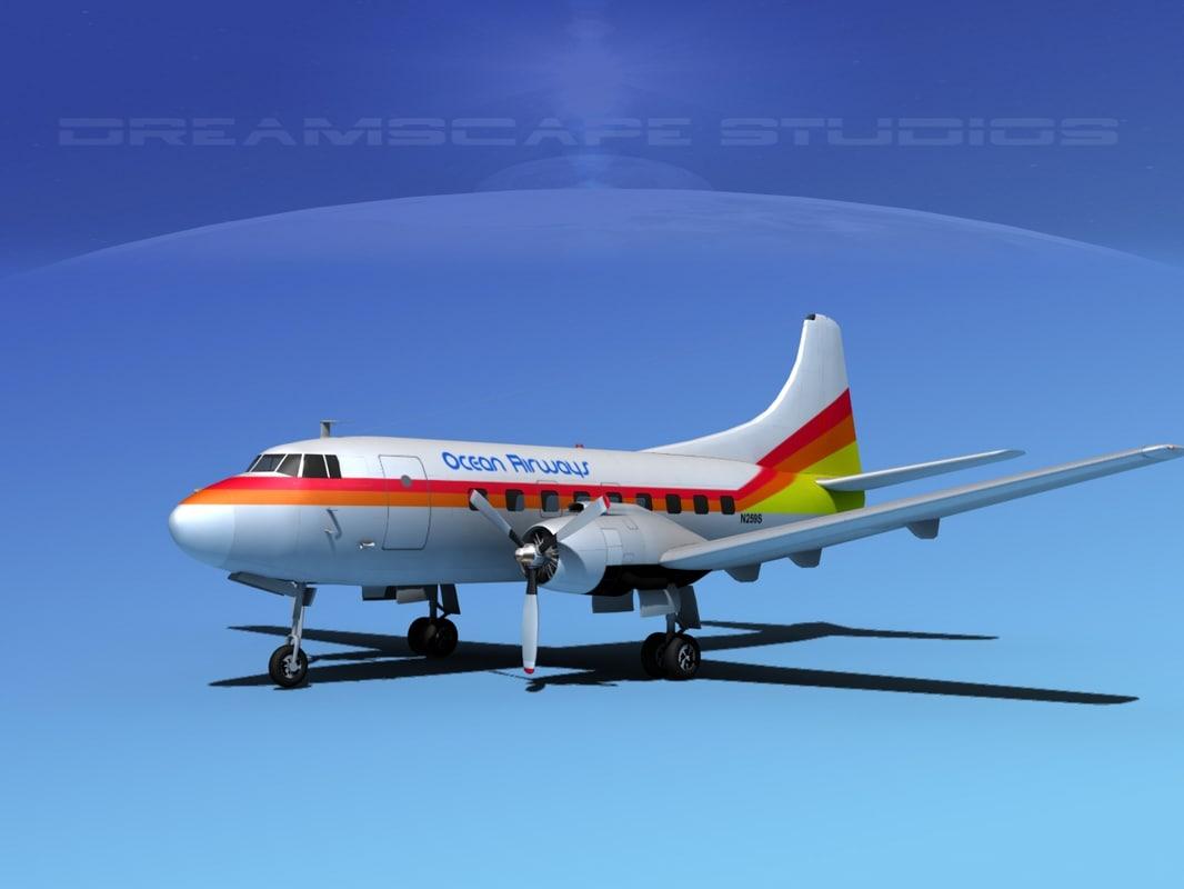 3d model propellers martin 202
