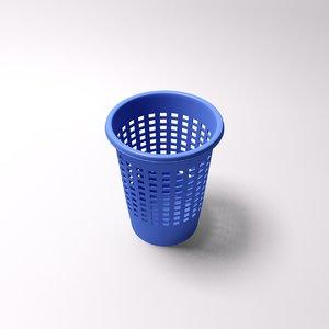 paper bin 3d model