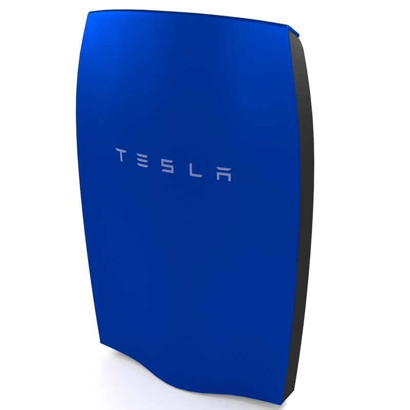 3d model tesla powerwall