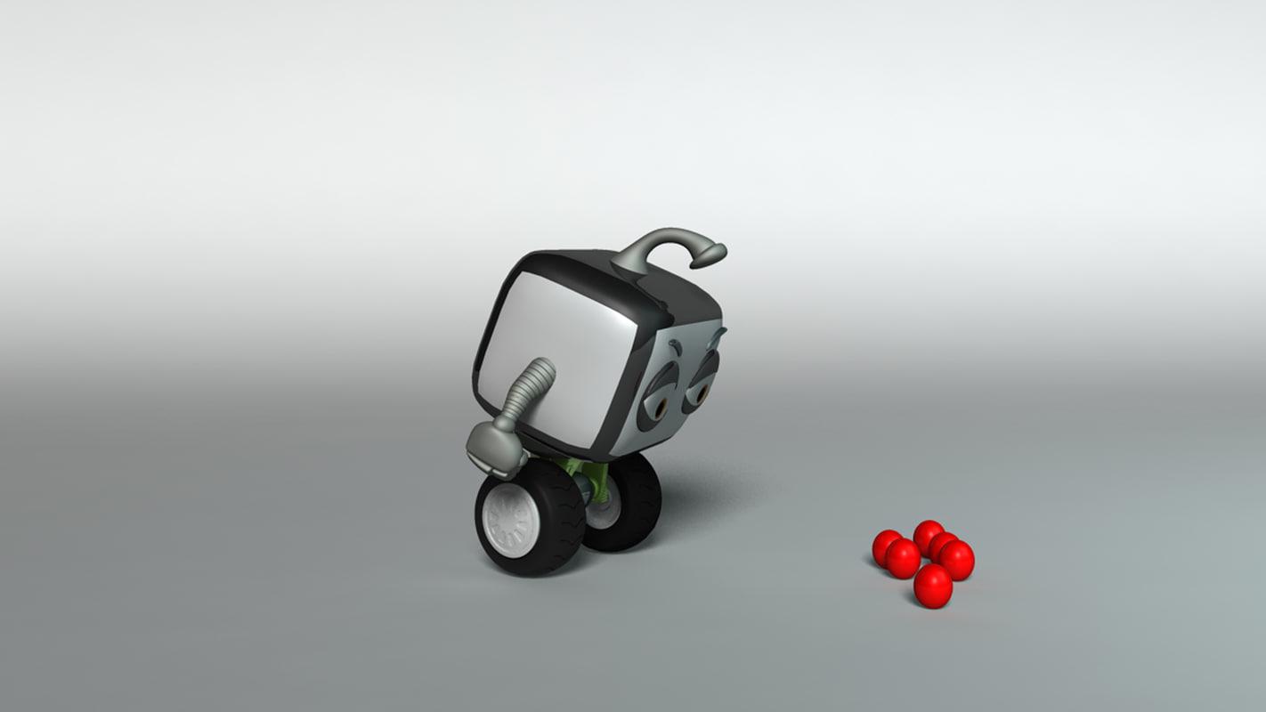 free ma model robot rig