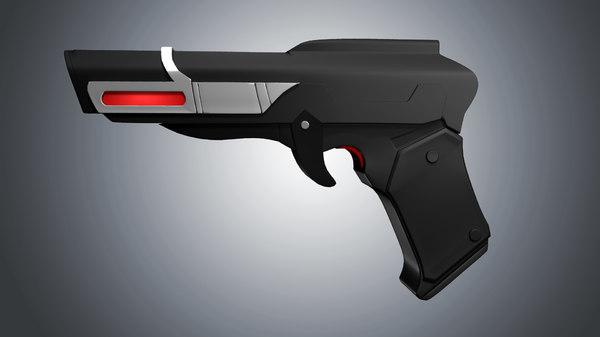 retro gun obj free