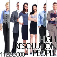 Six HD Business People Collection