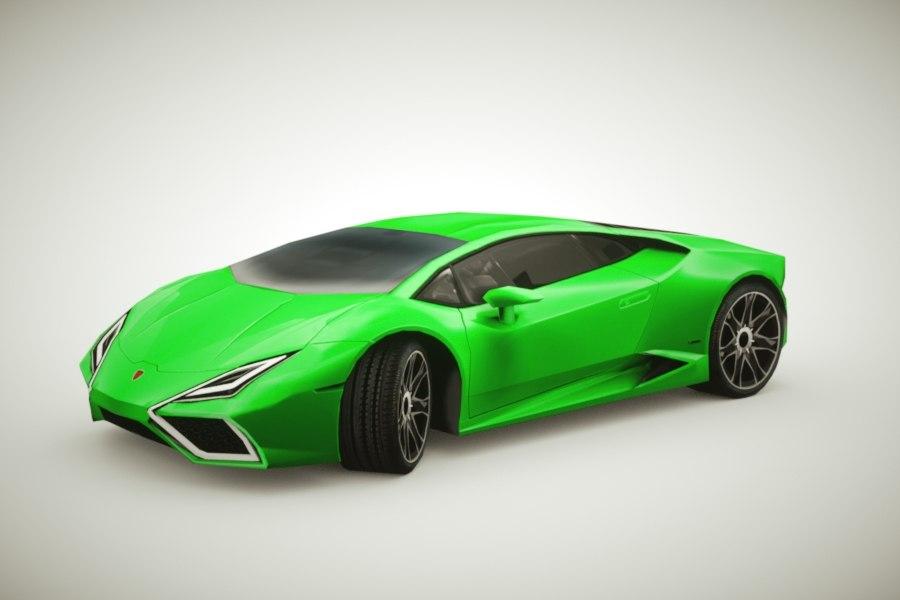 lwo generic supercars colors car